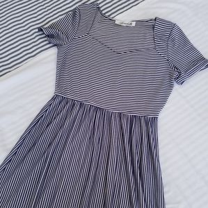 Annabelle striped summer dress